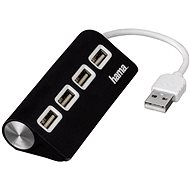 Hama USB 2.0 4 port black