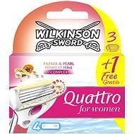Wilkinson Quattro for Women (3+1 ks)