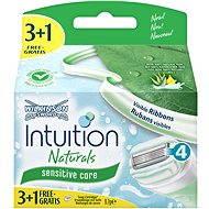 Wilkinson Intuition Naturals Sensitive náhradné hlavice 3 + 1ks