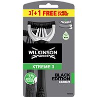 WILKINSON Xtreme3 Black (3+1 ks) - Holicí strojek
