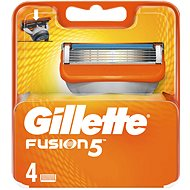 Gillette Fusion 4 pieces of spare heads