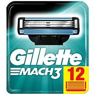 GILLETTE Mach3 12 ks - Pánské náhradní hlavice