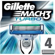 Gillette Mach3 Turbo 4 pieces of spare heads