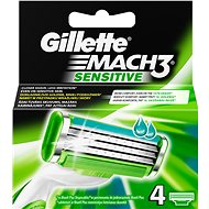 Gillette Mach3 Sensitive - 4 pieces of spare heads