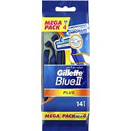 Gillette Blue II Plus razor quick 10 + 4 pcs
