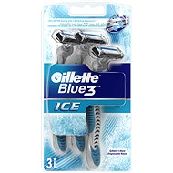 Gillette Blue3 Ice swift razor blister 3pc