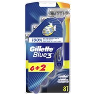 Gillette Blue3 6+2 pcs