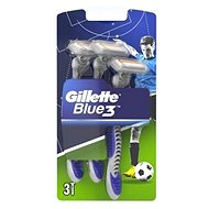 GILLETTE Blue3 Football 3 ks