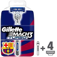 Gillette Mach3 Turbo + 3 heads