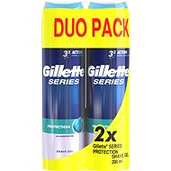 GILLETTE Series Gel Extra Protection 2 x 200 ml - Rasiergel