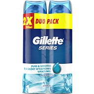 GILLETTE Series Gel Ultra Sensitive 2 × 200 ml - Gel na holení