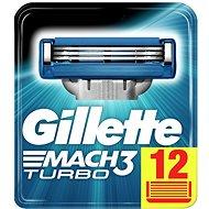GILLETTE Mach3 Turbo 12 ks - Pánské náhradní hlavice