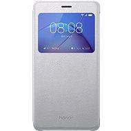 Honor 6X View smart cover Silver - Pouzdro