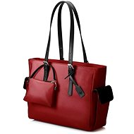 HP Ladies Slim Tote Red 14""