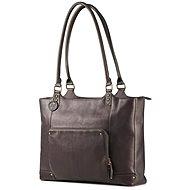 """HP Ladies Leather Tote Brown 15.6 """""""