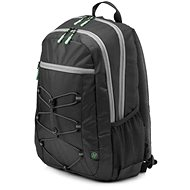 HP Active Backpack Black/Mint Green 15.6""