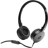 HP Stereo Headset H2800 Schwarz - Kopfhörer mit Mikrofon