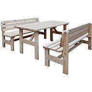 Vetro-Plus Zahradní pivní set masiv, dřevěný - Set
