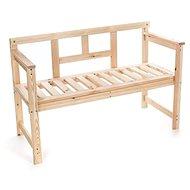 Vetro-Plus Lavice dřevěná, masivní dřevo - Lavice