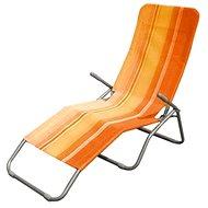 Happy Green Beach lounger orange lane