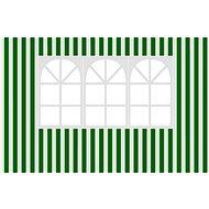 Vetro Plus-Seitenwände für Gartenlaube mit Fensterstreifen - Seitenwand