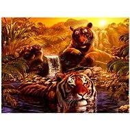 Ravensburger Tiger bath 2000 pieces