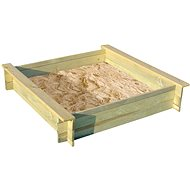Sandbox ALIX wooden with cover - Sandpit