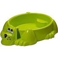 Sandbox - Doggy grün Pool