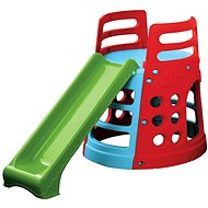 Slide with tower and climbing paddle - Slide