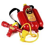 Klein Feuerlöscher handlich auf der Rückseite für die Feuerwehr - Kostüm-Accessoires