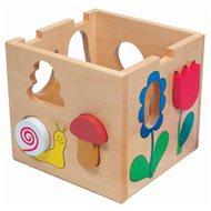 Bino Skládací krabička - Florell - Didaktická hračka