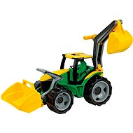 Lena tractor with a spoon excavator and