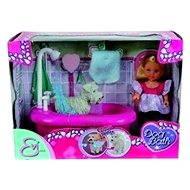 Simba Evička koupe pejska - Doll