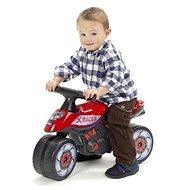 Motorka červená - Detské odrážadlo