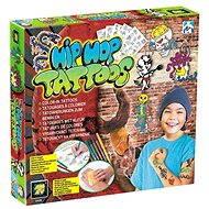 HipHop tetování pro kluky - Zkrášlovací sada
