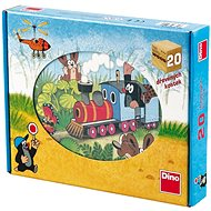 Wooden blocks Mole and transport equipment