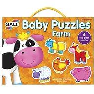 GALT Puzzle pro nejmenší – Zvířátka na farmě - Puzzle