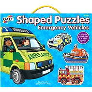 GALT Puzzle for the Smallest - Rescue cars - Puzzle