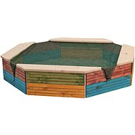 Woody Coloured Sandpit