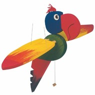 Big Woody flying parrot