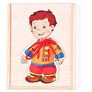 Woody Šněrovací šatní skříň - Chlapeček
