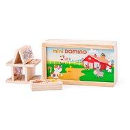 Woody Minidomino - Zvířátka - Domino