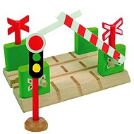 Woody Railroad Accessories - Crossing with Barriers