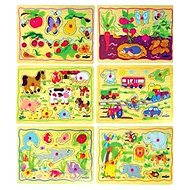 Woody Puzzle on the board - For Children