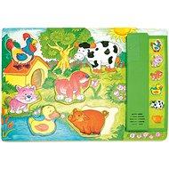 Woody Muzikální puzzle - Zvířátka - Puzzle
