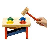 Woody Wooden Hammer Bench with Balls