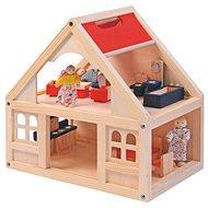 Woody Domeček pro panenky s příslušenstvím - Doplněk pro panenky