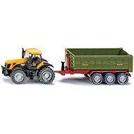 Siku Farmer - Traktor JCB Fasttrac 8250 s kontajnerovým prívesom