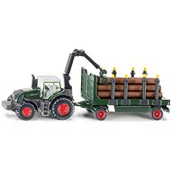 Farmer Siku - Tractor with forestry trailer