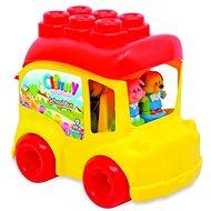 Clementoni Clemmy - Zvířátka a školní autobus - Auto